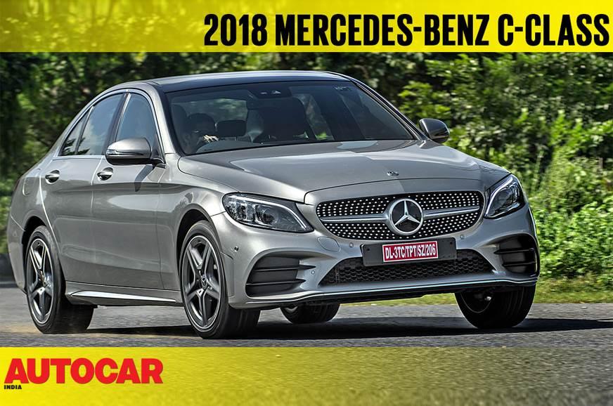 2018 Mercedes-Benz C 300d India video review