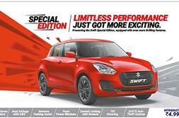Maruti Swift limited edition launched at Rs 4.99 lakh