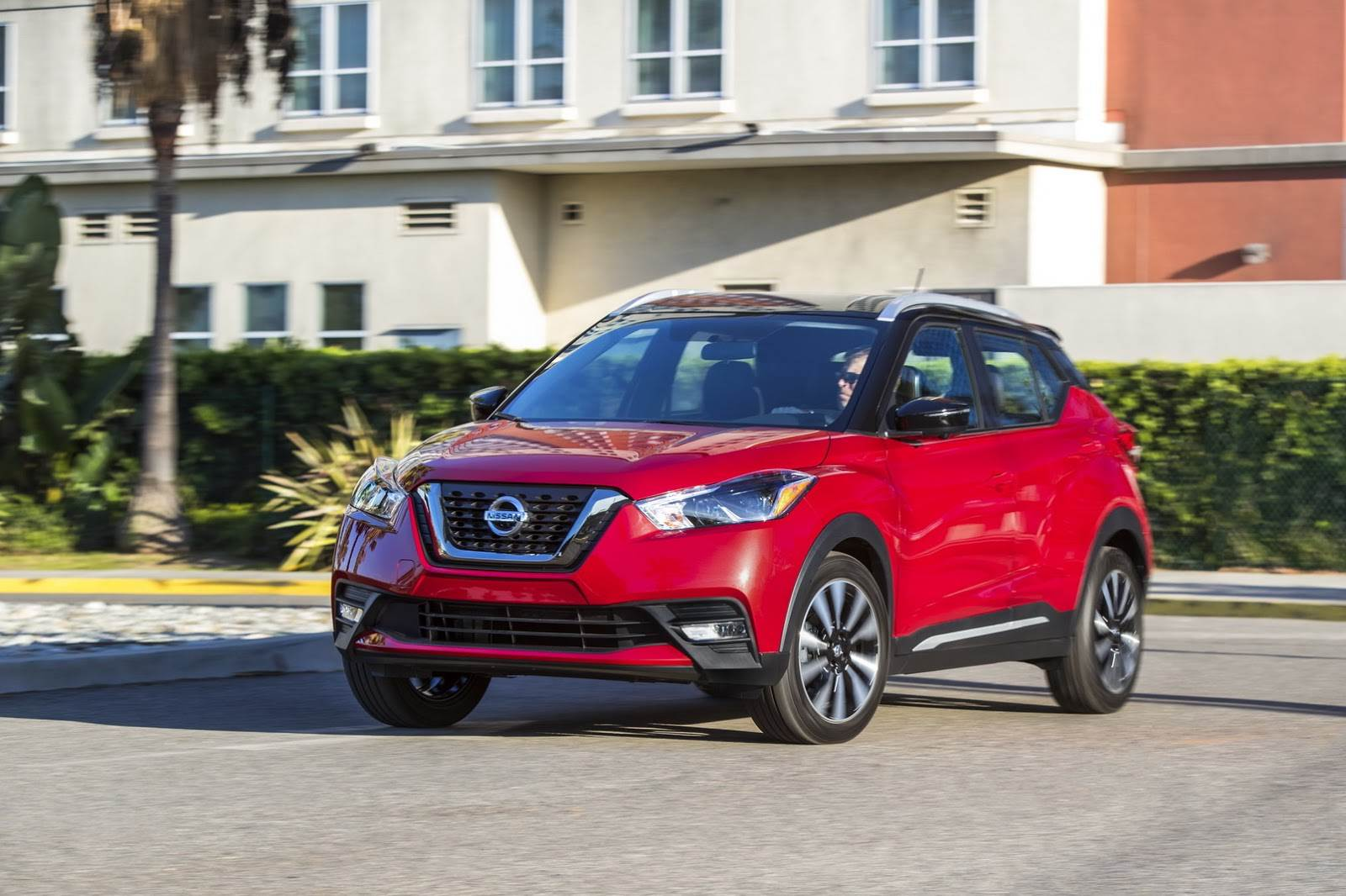Nissan Kicks (left-hand drive model shown for representation purpose).