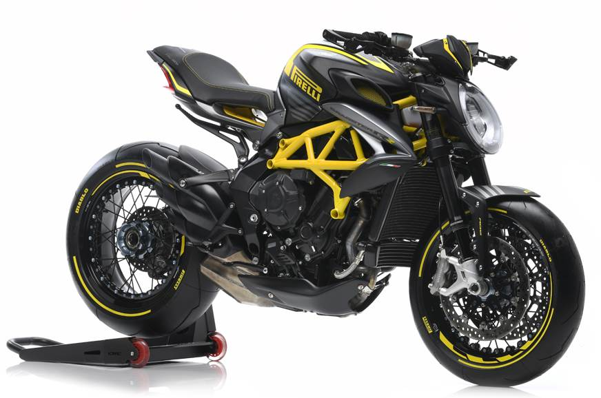 2018 MV Agusta Dragster 800 RR Pirelli revealed