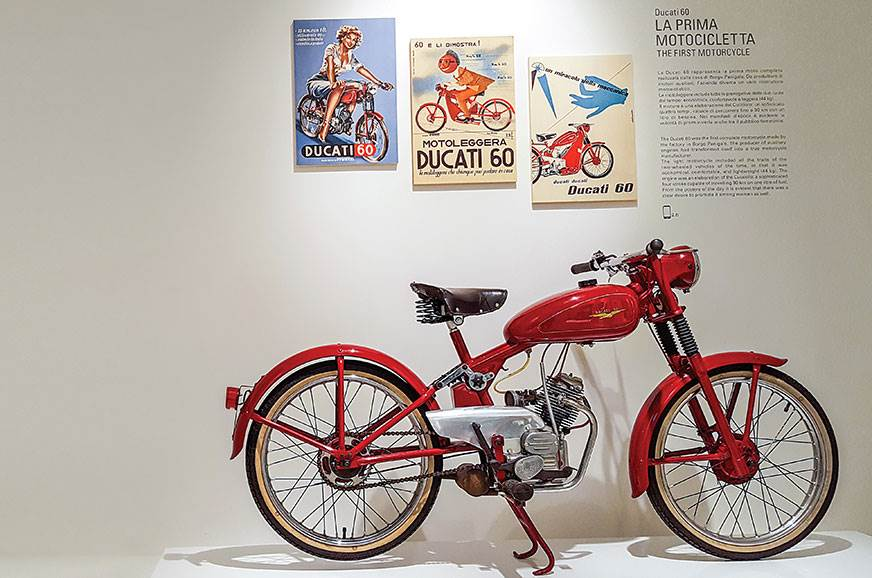 The 1949 Ducati 60 was its first complete motorcycle. It ...