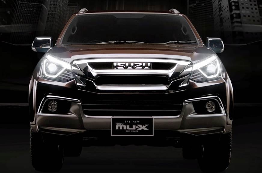 Isuzu MU-X facelift to be unveiled on October 16, 2018