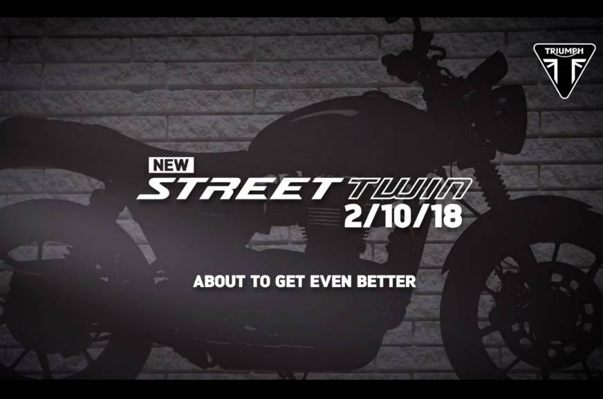 2019 Triumph Street Twin unveil on October 2