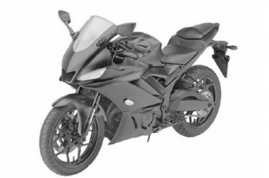 2019 Yamaha R3 patent images leaked