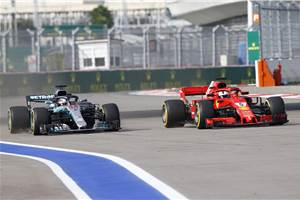 Hamilton wins Russian GP as Mercedes imposes team orders