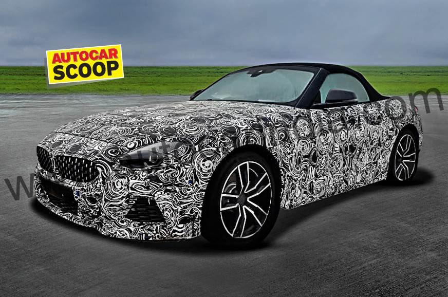 All-new BMW Z4 spied in India
