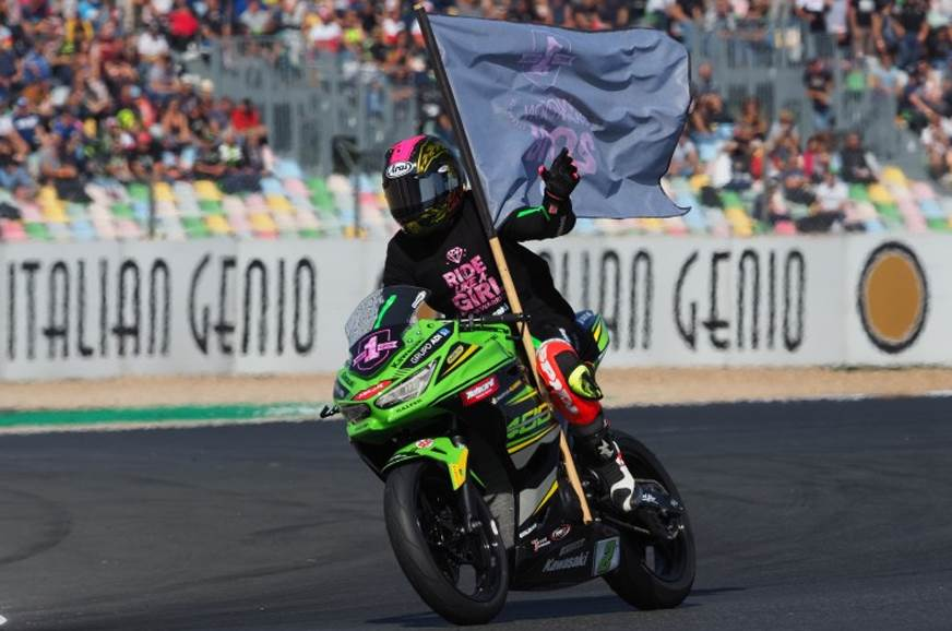 Ana Carrasco makes history by clinching World Supersport 300 title