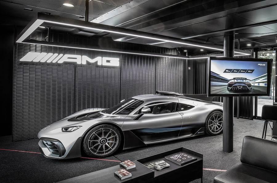Mercedes-AMG confirms 'One' as hypercar name
