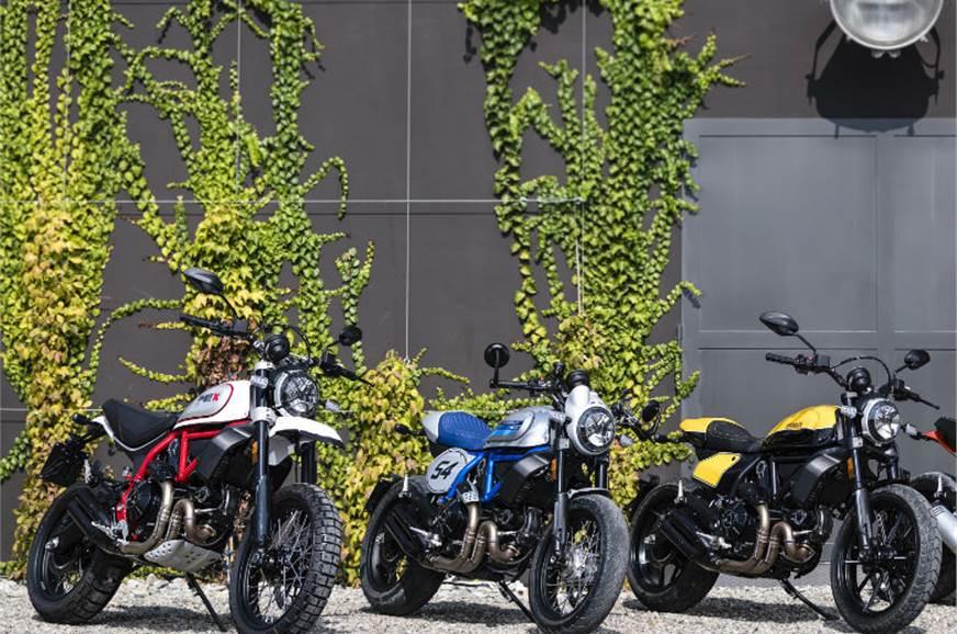 2019 Ducati Scrambler range