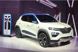 Renault K-ZE concept previews all-electric Kwid