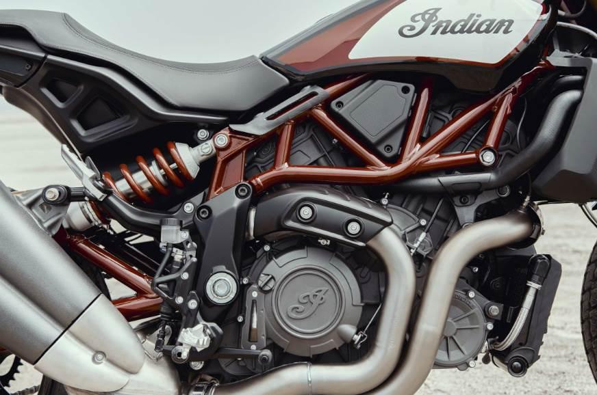 Indian FTR1200 engine