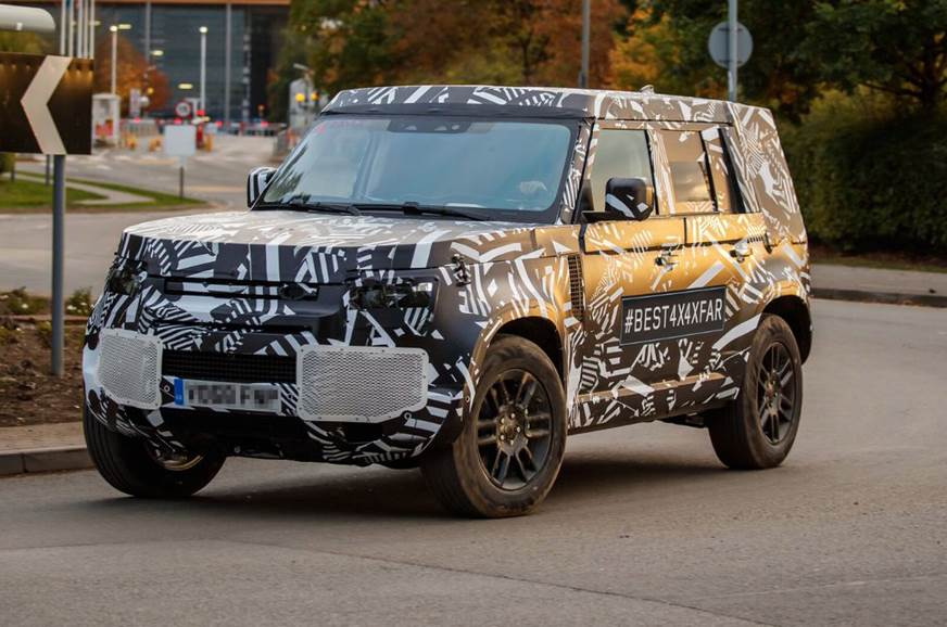 New 2020 Land Rover Defender spied testing for the first time