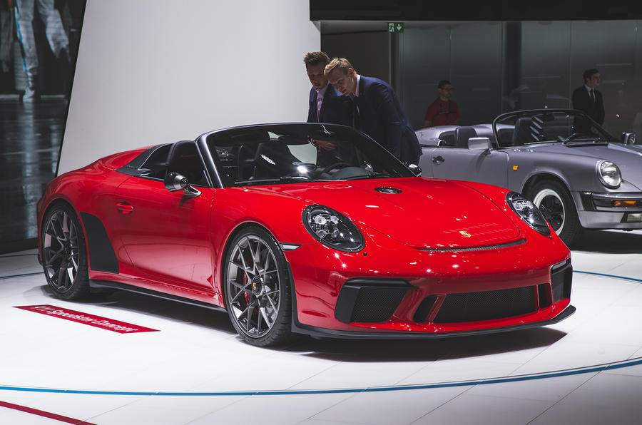 Porsche 911 Speedster confirmed for production