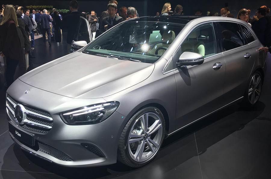 Third-gen Mercedes-Benz B-class revealed