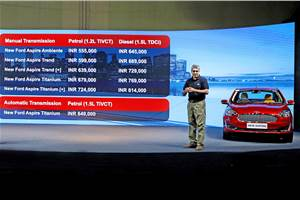 2018 Ford Aspire undercuts rivals on price