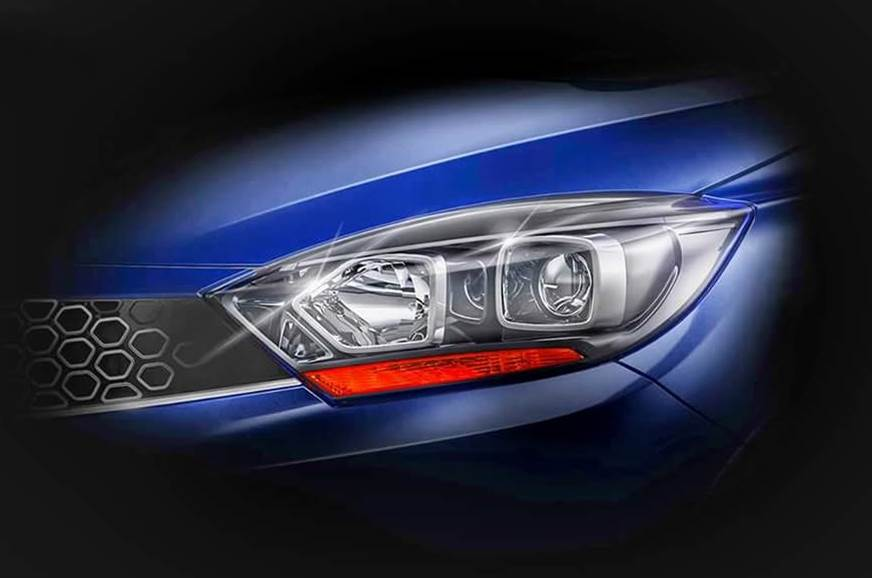 Updated Tata Tigor teased ahead of October 10 launch