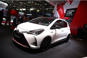 Toyota Yaris GR Sport revealed at Paris motor show