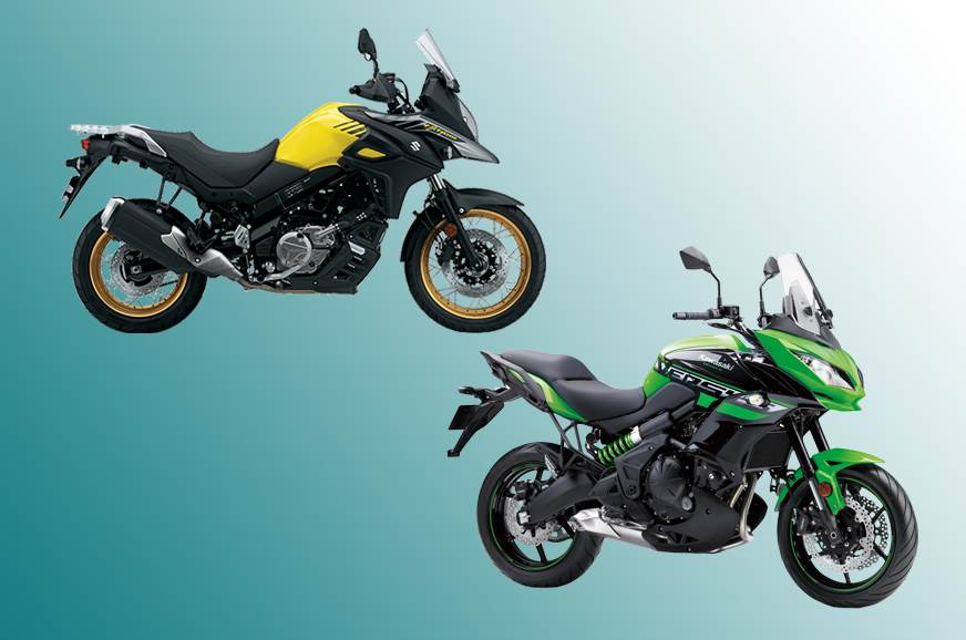 Suzuki V-Strom 650XT vs Kawasaki Versys 650: Specifications comparison