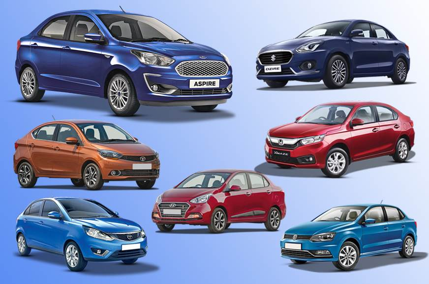 2018 Ford Aspire vs rivals: Specifications comparison