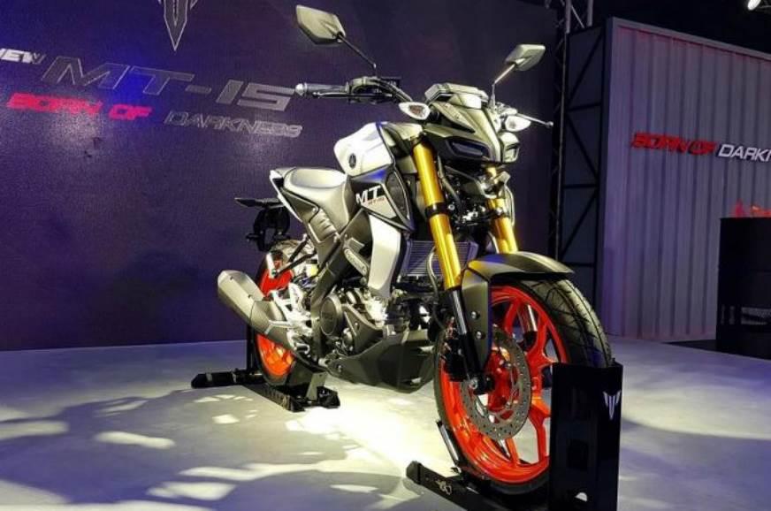 2019 Yamaha MT-15 showcased in Thailand