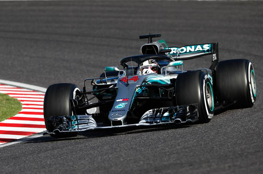Hamilton storms to Japanese GP victory