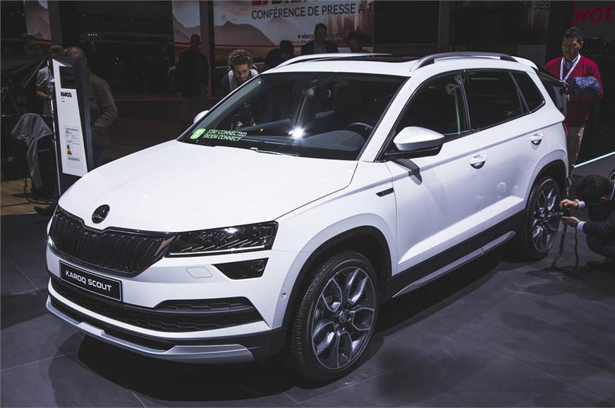 Skoda Karoq Scout revealed - Autocar India