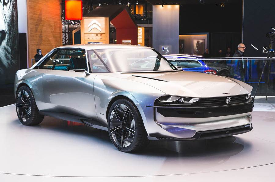 Peugeot showcases e-Legend autonomous concept at Paris