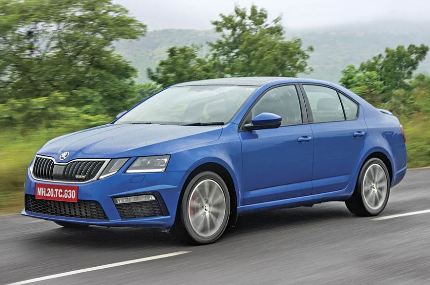Current-gen India-spec Skoda Octavia RS used for representative purposes only.