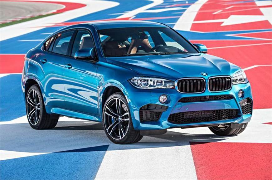 The current BMW X6 M.