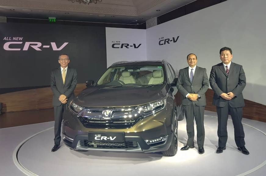 2018 Honda CR-V launched at Rs 28.15 lakh