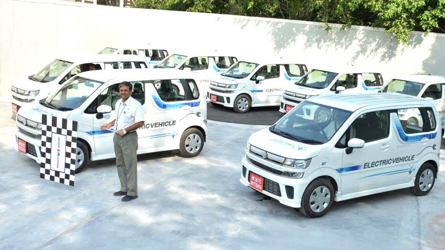 Maruti Suzuki WagonR-based EV prototypes begin road testing