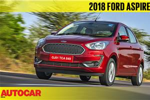 2018 Ford Aspire video review