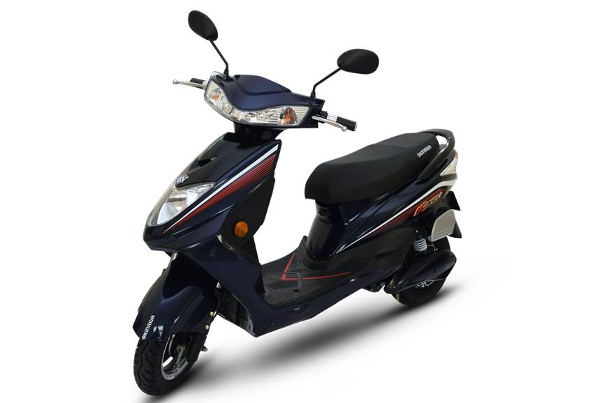 Okinawa Ridge+ e-scooter launched at Rs 64,988