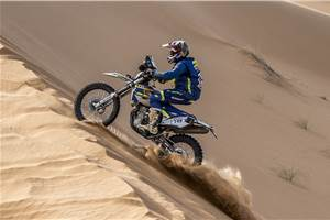 Tanveer secures podium finish at 2018 Rally of Morocco