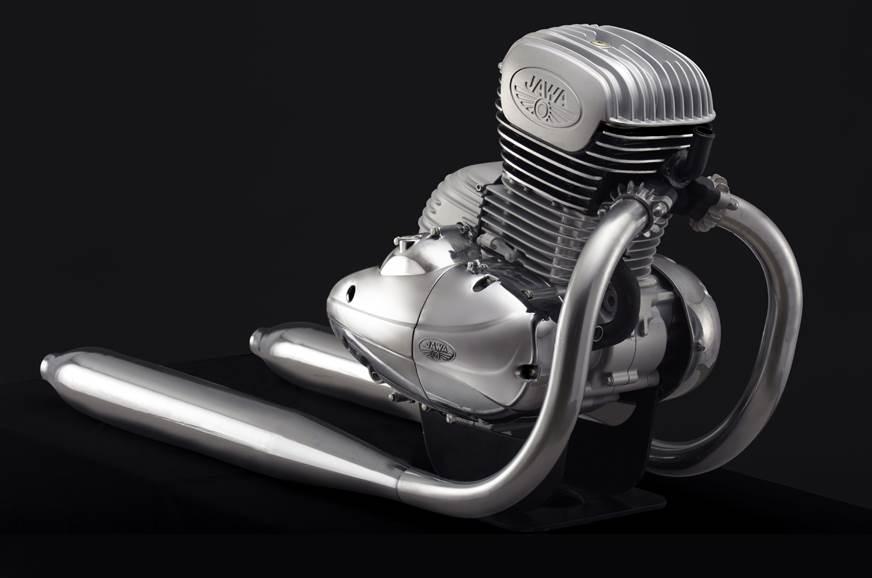 Jawa engine for India revealed