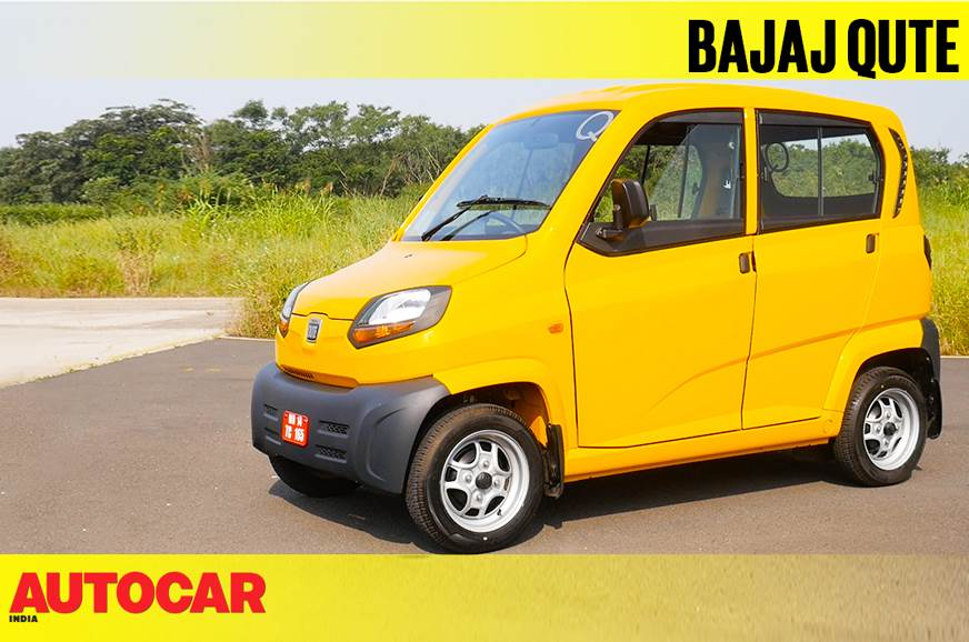 2018 Bajaj Qute video review