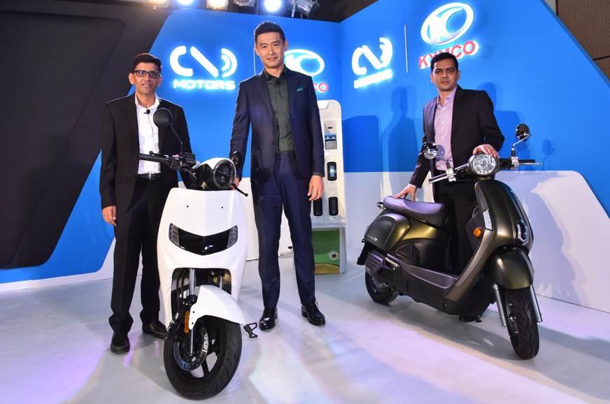 Kymco partners Twenty Two Motors to provide EV solutions