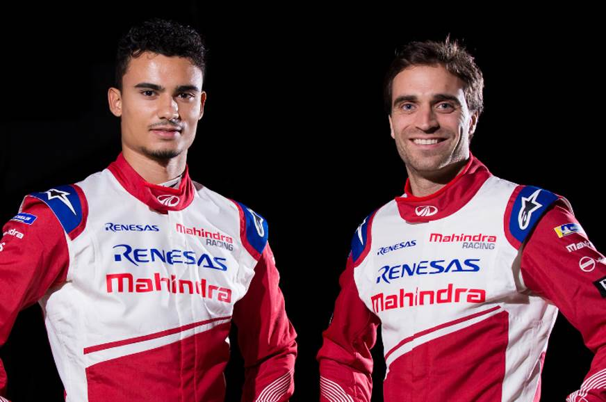 (L-R) Pascal Wehrlein and Jerome d'Ambrosio.