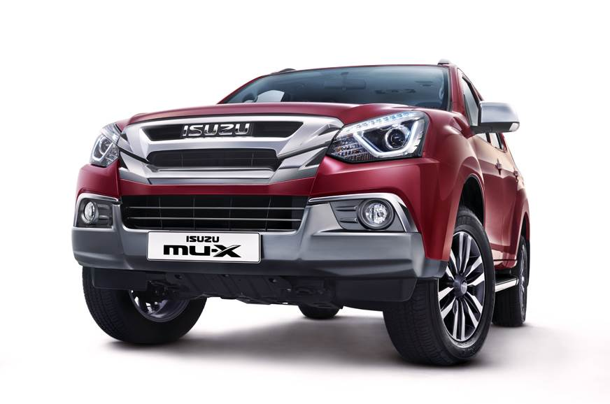Isuzu MU-X facelift launched at Rs 26.27 lakh