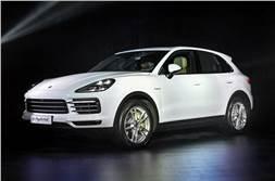 2018 Porsche Cayenne, e-Hybrid launched