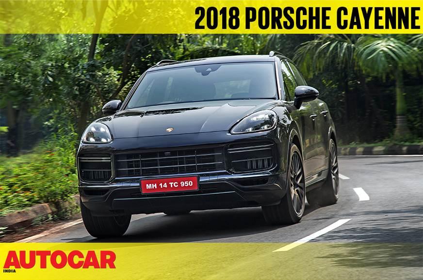 2018 Porsche Cayenne Turbo video review
