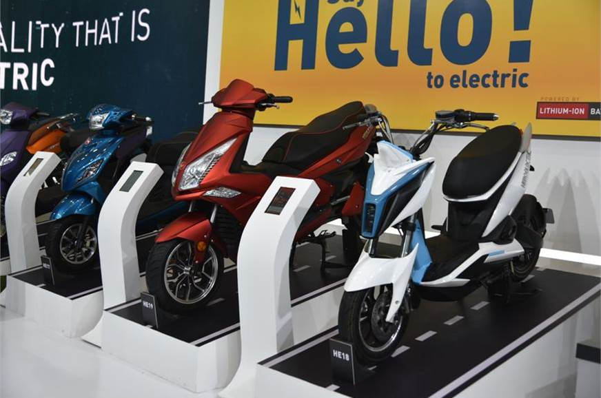 Sales of electric two-wheelers have more than doubled fro...
