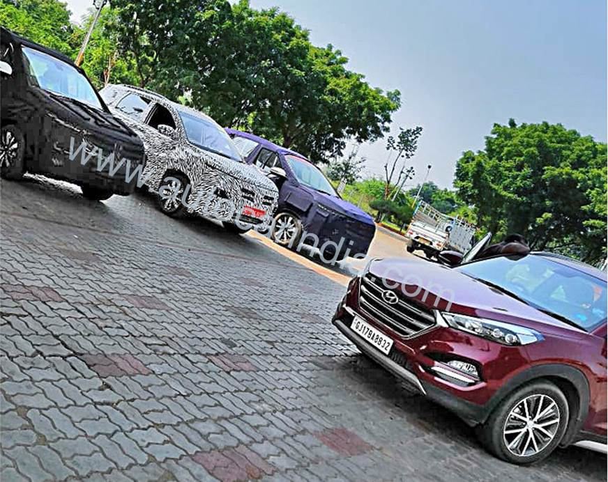 MG Motor SUV being benchmarked against Hyundai Tucson