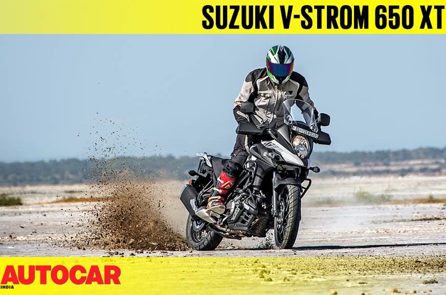 2018 Suzuki V-Strom 650XT video review