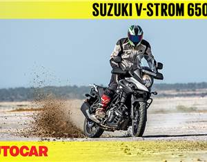 2018 Suzuki V-Strom 650XT video review