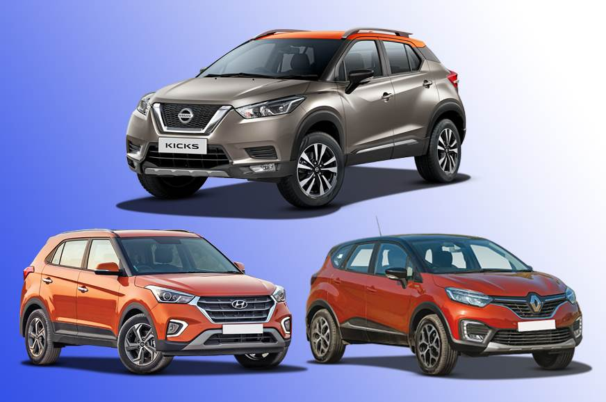 2019 Nissan Kicks vs rivals: Specifications comparison
