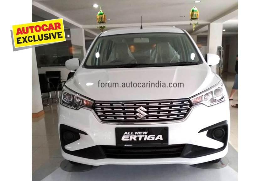 New Maruti Suzuki Ertiga bookings open ahead of November ...