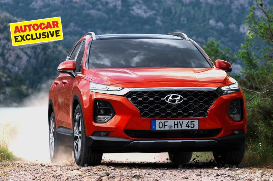 Next-gen Creta could get styling similar to the latest Santa Fe (pictured).