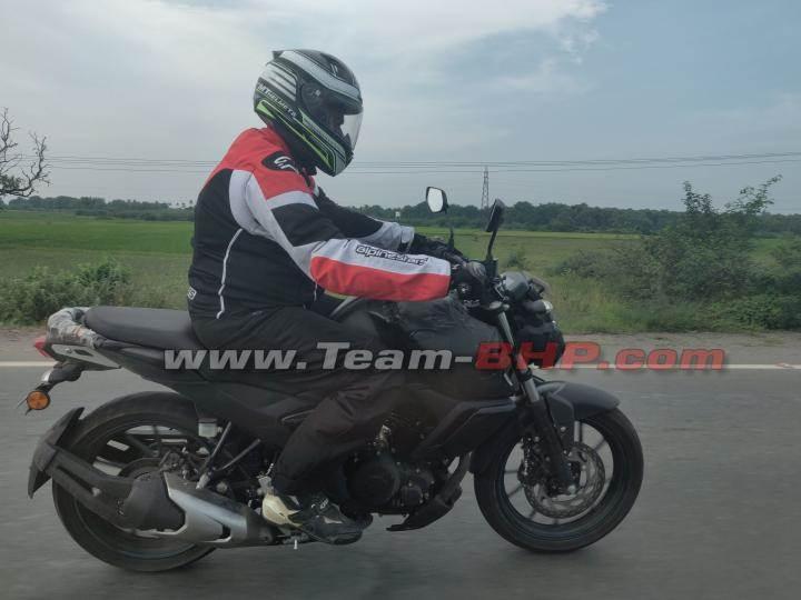Next-gen Yamaha FZ FI spotted testing
