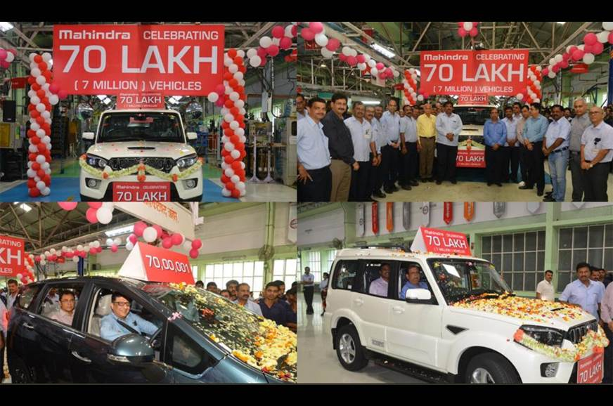 Mahindra crosses 70 lakh production mark